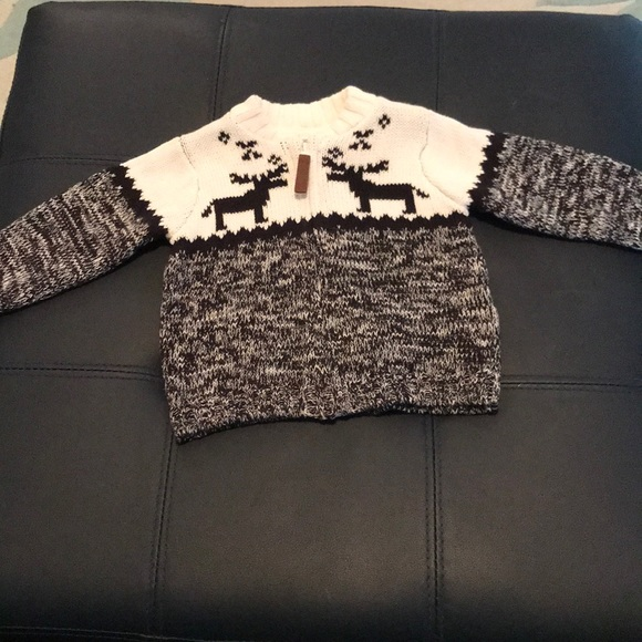 Carters Shirts Tops Adorable Winterholiday Baby Sweater 6